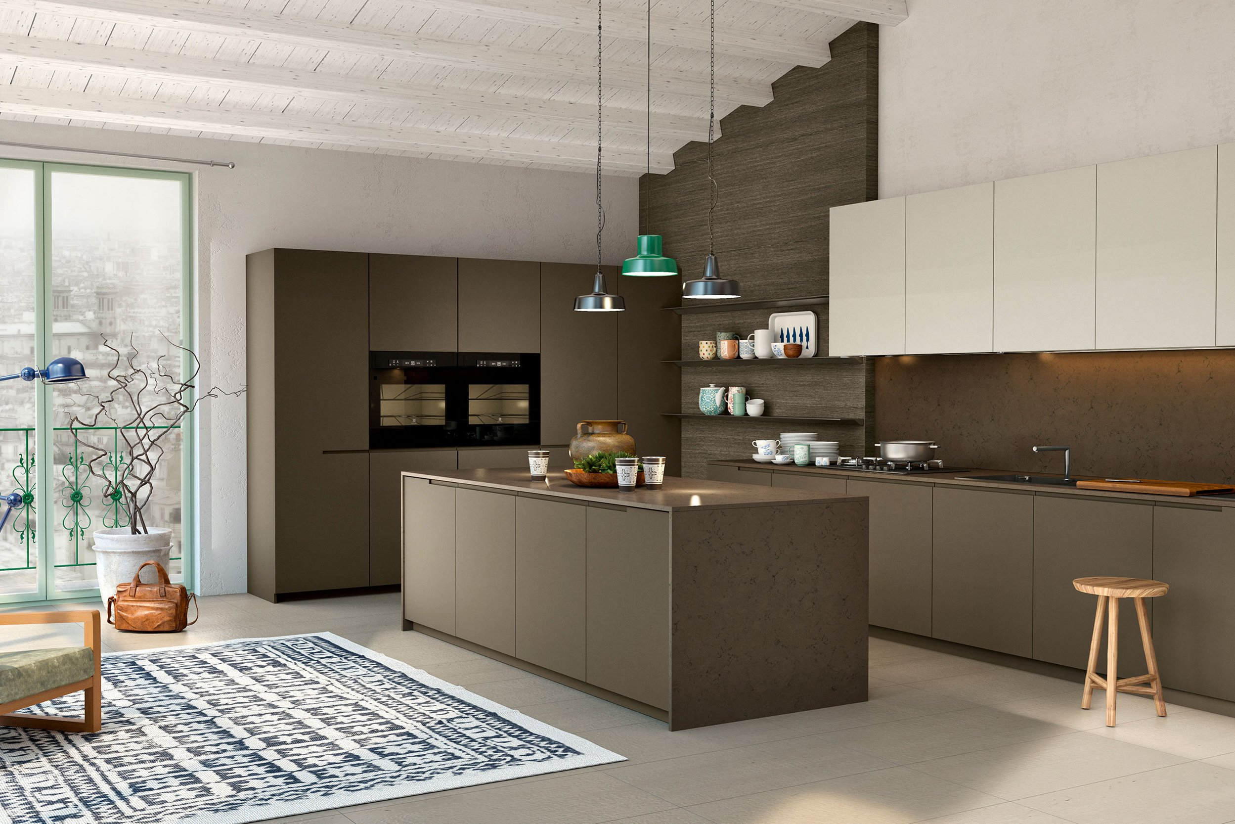 La cucina moderna tra design e gourmet